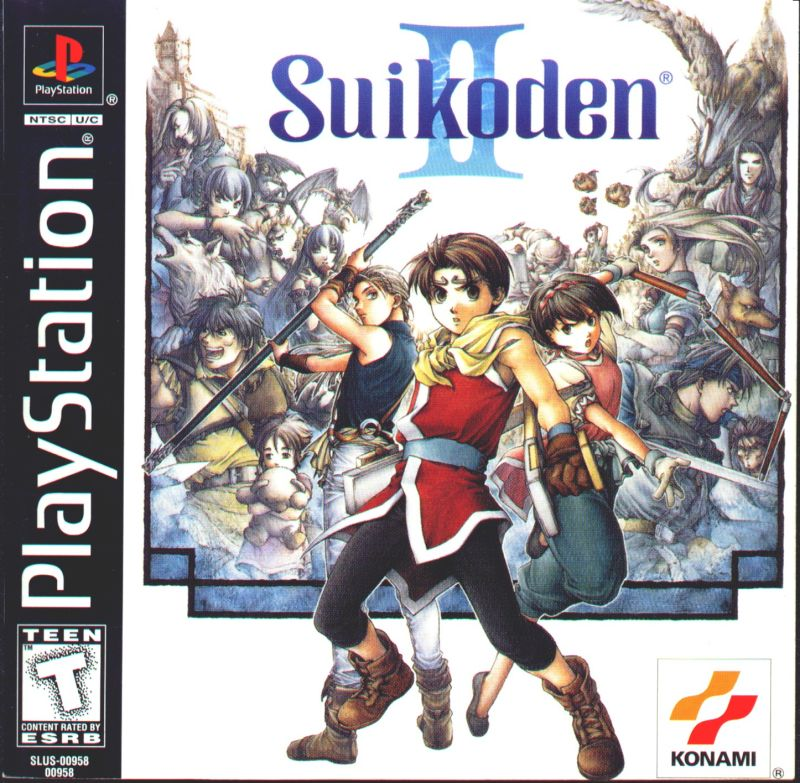 16314 suikoden ii playstation front cover 5 Must Play Playstation 1 Games