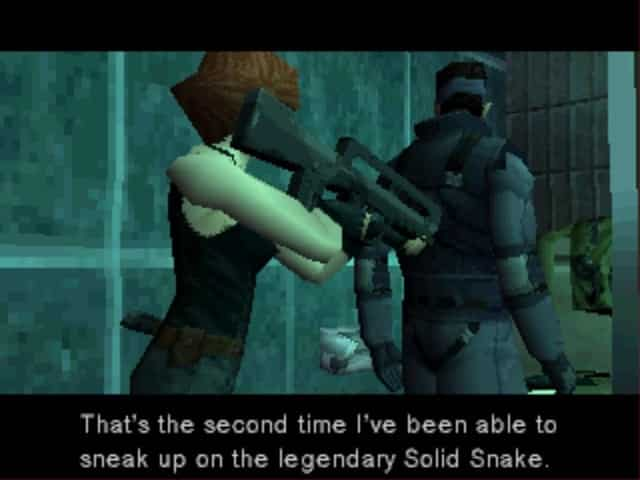 Metal Gear Solid PSX ingame 3 5 Must Play Playstation 1 Games