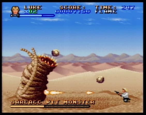 Super Star Wars Sarlaac Top 5 Games You Should Install on Your SNES Classic
