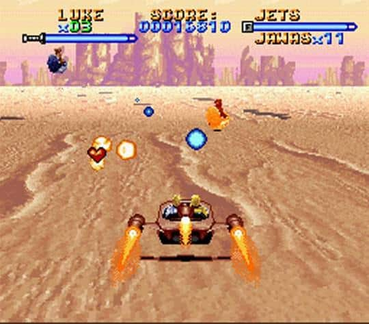 super star wars speeder Top 5 Games You Should Install on Your SNES Classic