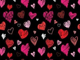 Heart Doodle Black 31 2D grande Current Top 8 YouTube Crushes