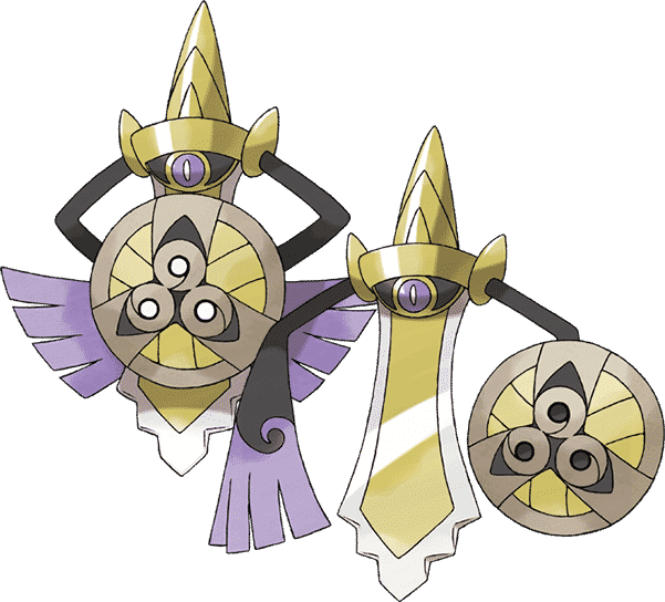 pokemon sword and shield best aegislash build