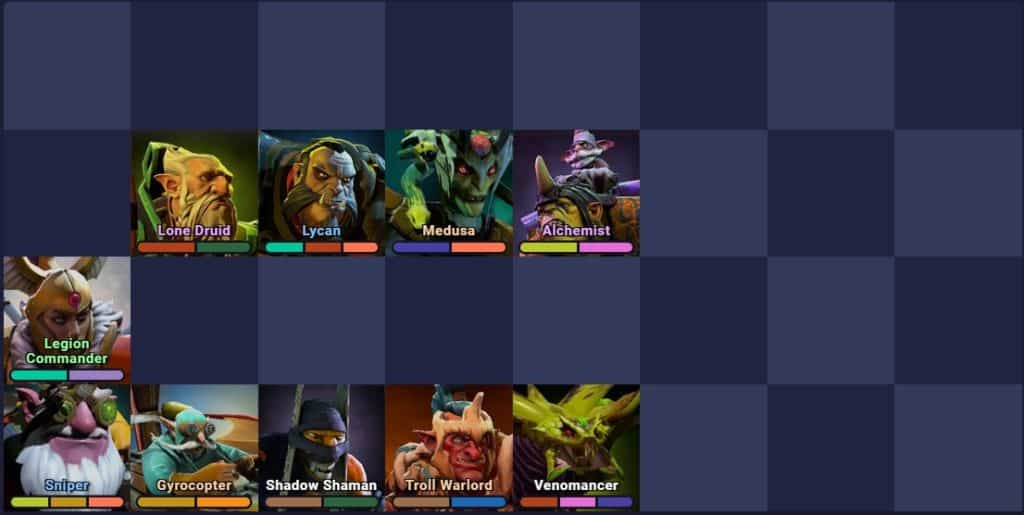 dota underlords legion build