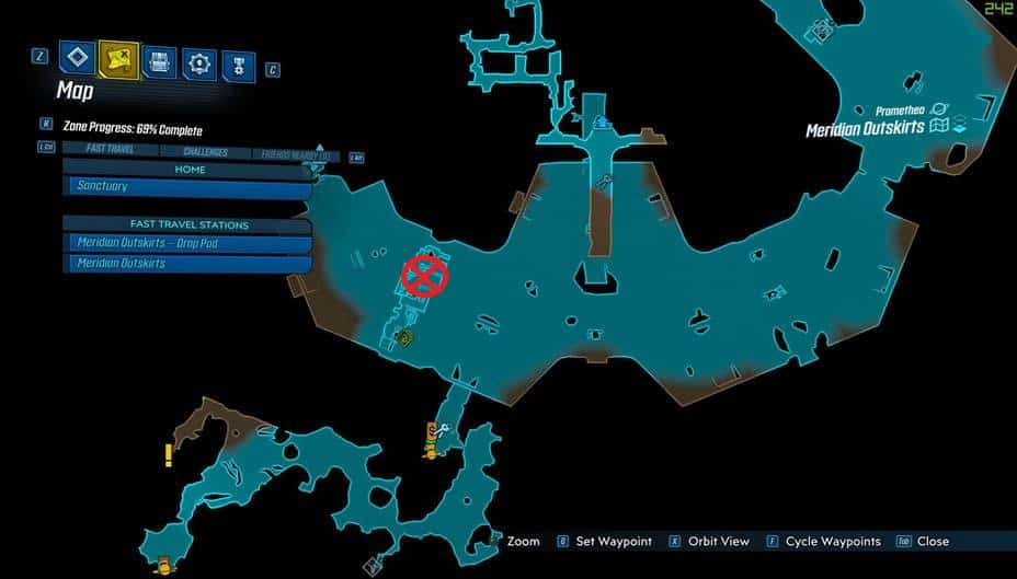 Borderlands® 3 Borman nates location Borderlands 3 Cutsman Legendary Farm Location