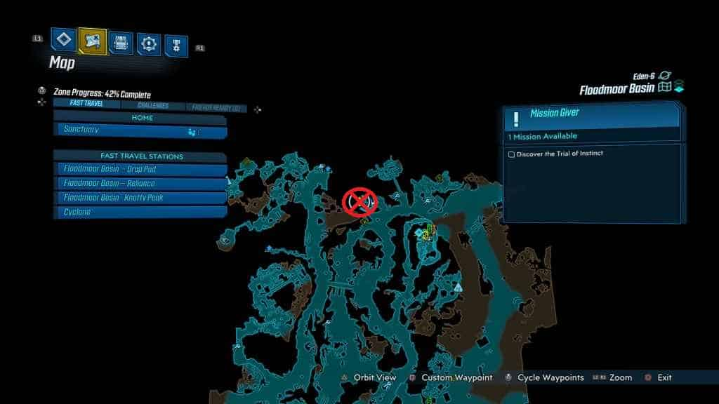bl3trialofinstinct Borderlands 3 Cosmic Stalker Farm & Location Guide