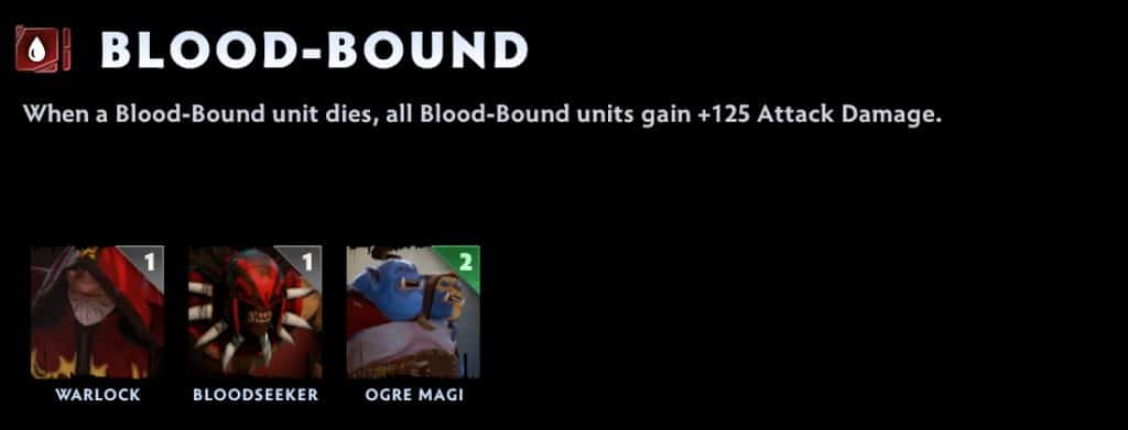 dota underlords tier list bloodbound