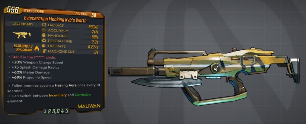 best borderlands 3 moze guns kyb's worth