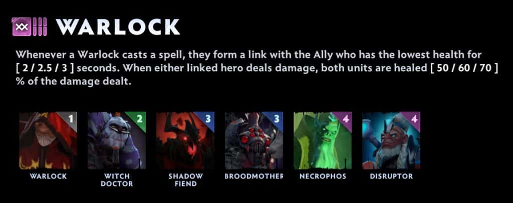dota underlords tier list warlock