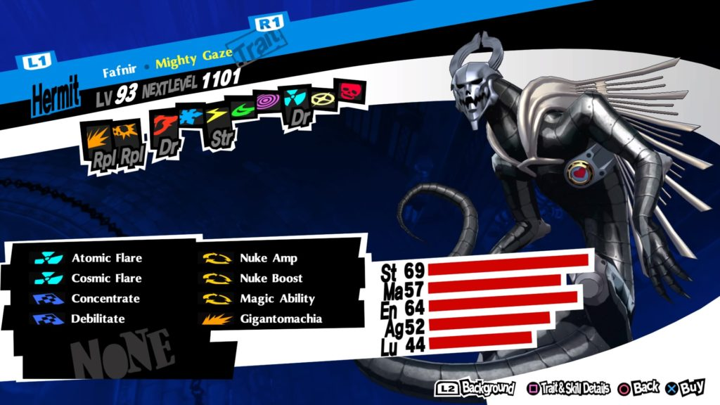 persona 5 royal best personas fafnir