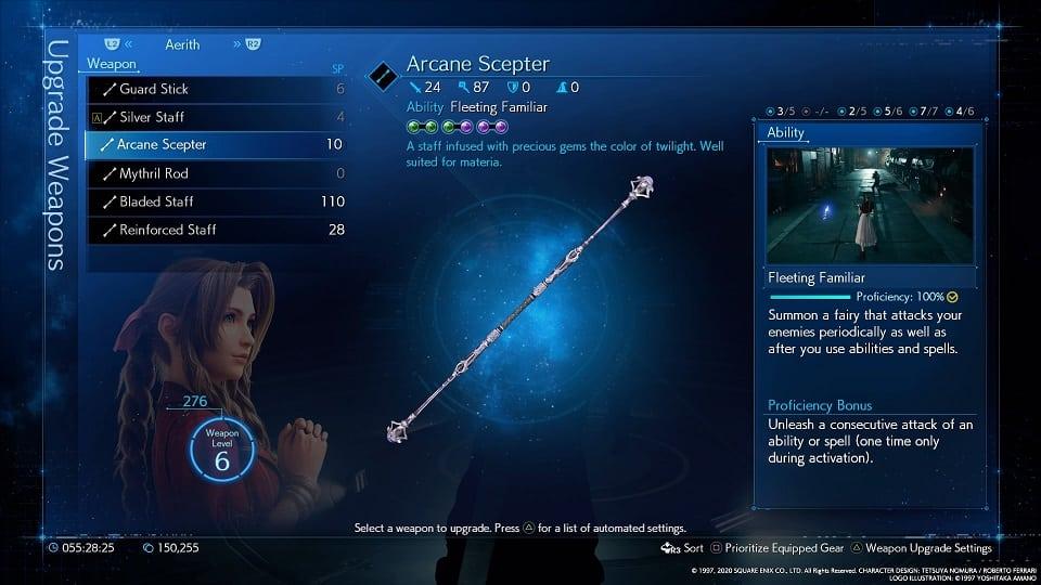 arcane scepter