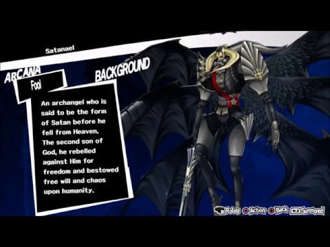 persona 5 royal satanael
