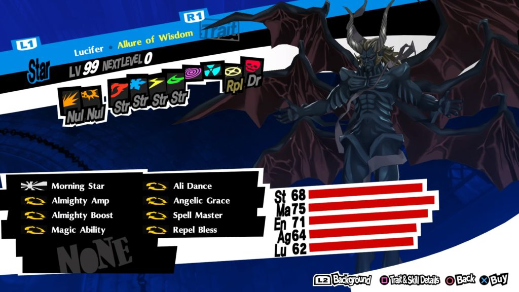 persona 5 royal lucifer