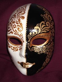 two toned mask spiritual nihilism
