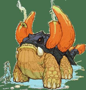 breath of fire 3 dragon forms behemoth