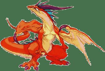 breath of fire 3 dragon forms dragon
