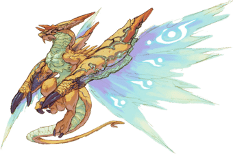 breath of fire 3 dragon forms kaiser