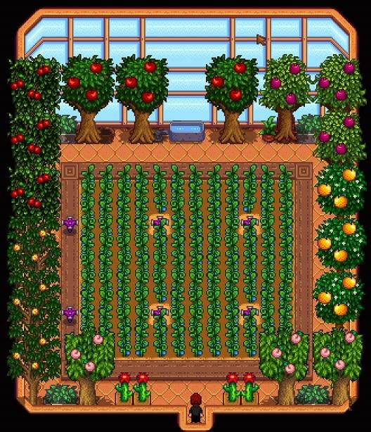 stardew valley mushrooms or bats greenhouse