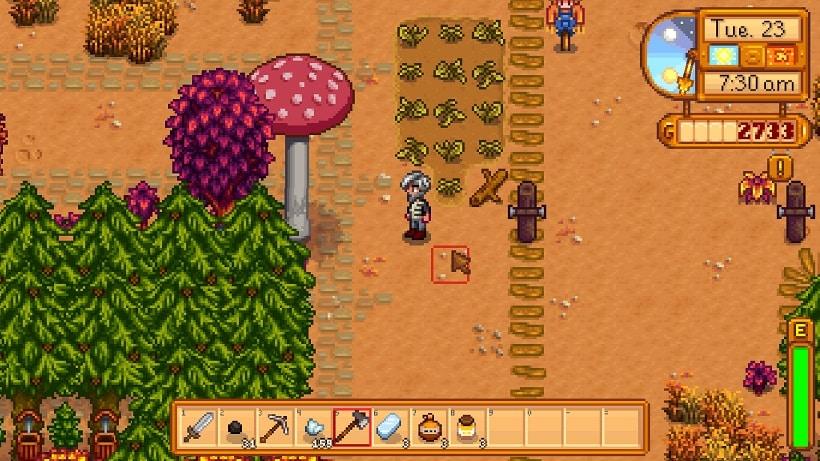 stardew valley mushrooms or bats mushroom tree