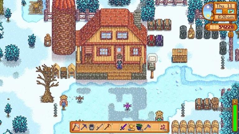 stardew valley best crops winter