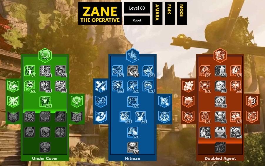 best borderlands 3 build zane