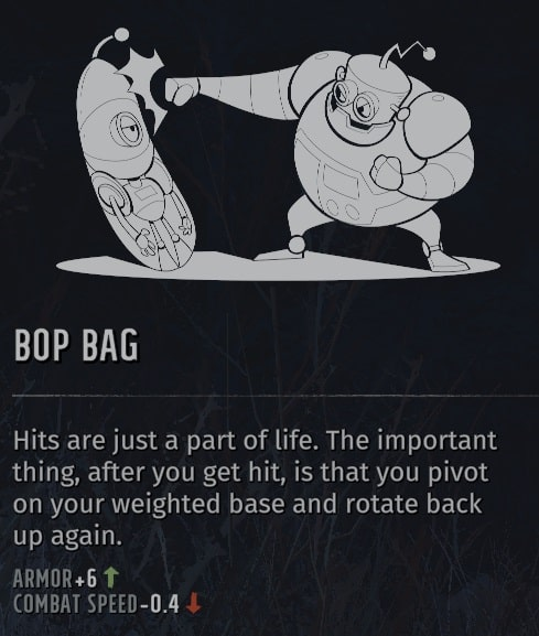 wasteland 3 quirks bop bag