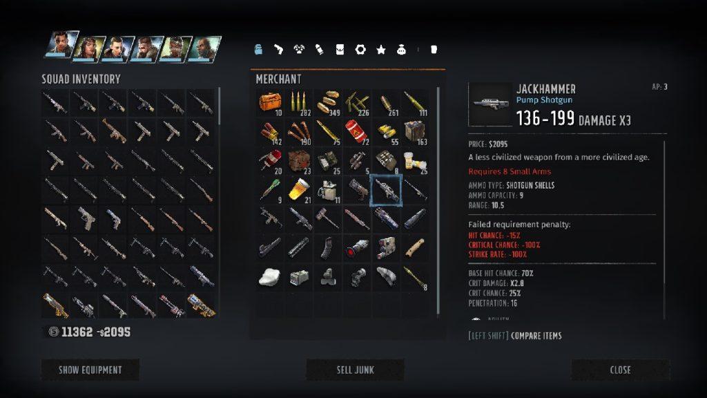best wasteland 3 weapons cheebus