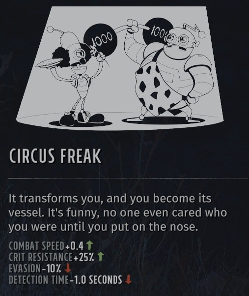 wasteland 3 circus freak