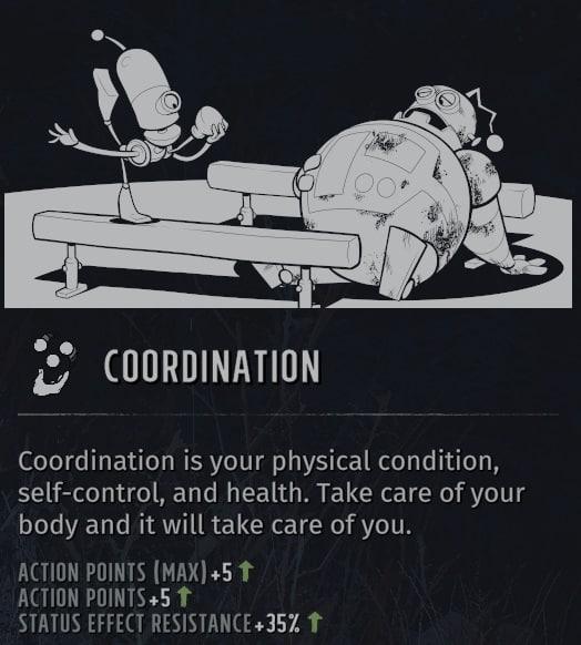 wasteland 3 attributes coordination