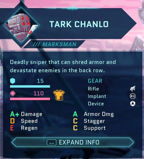 best star renegades characters marksman