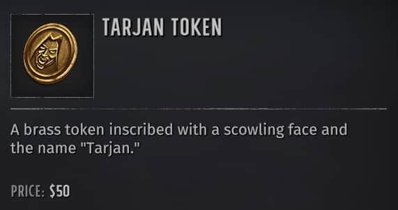 wasteland 3 tarjan tokens