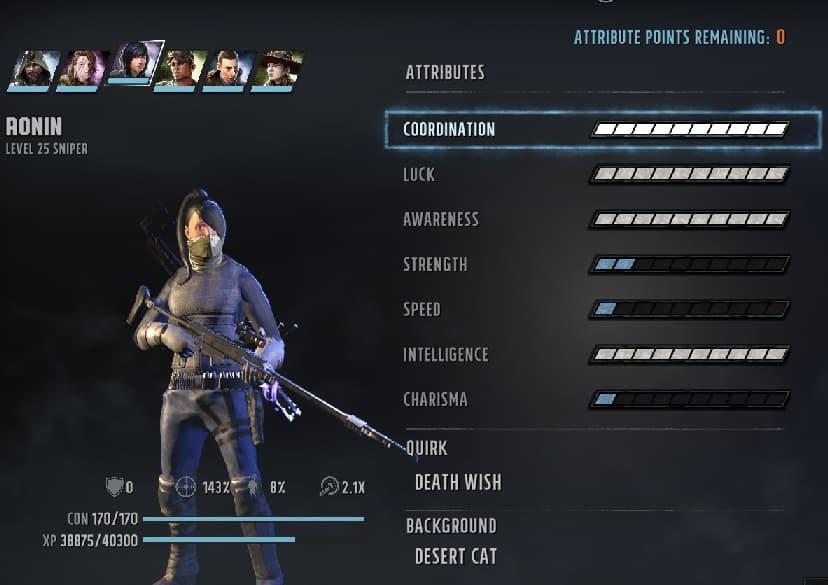 wasteland 3 builds death wish sniper