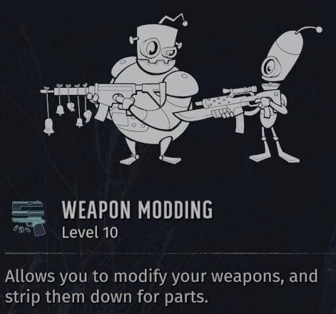 worst wasteland 3 skills weapon modding