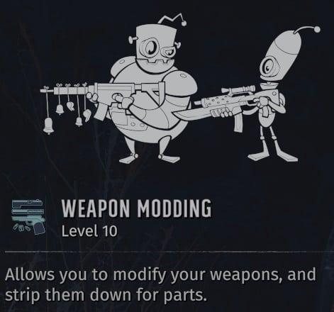 worst wasteland 3 skills weapon modding