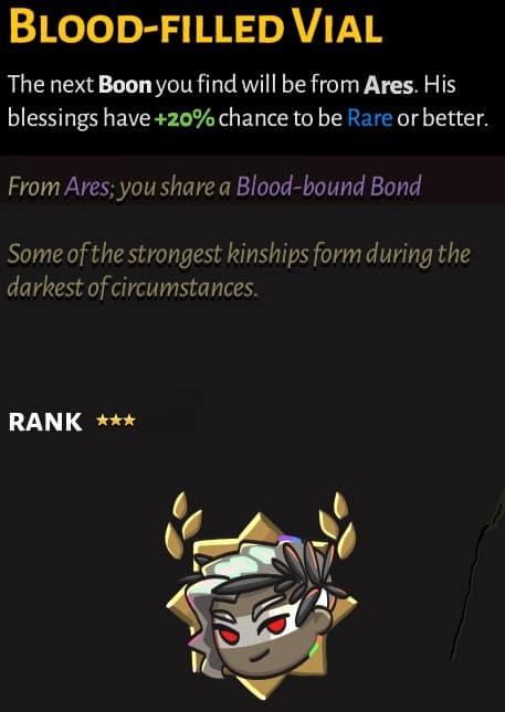best hades keepsakes blood-filled vial