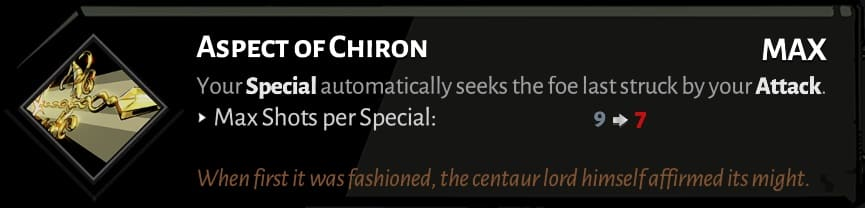 best hades bow aspects chiron