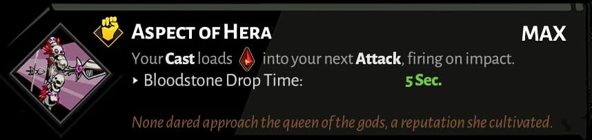 bow aspect of hera best hades aspects