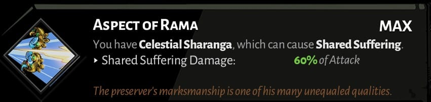 best hades bow aspects rama