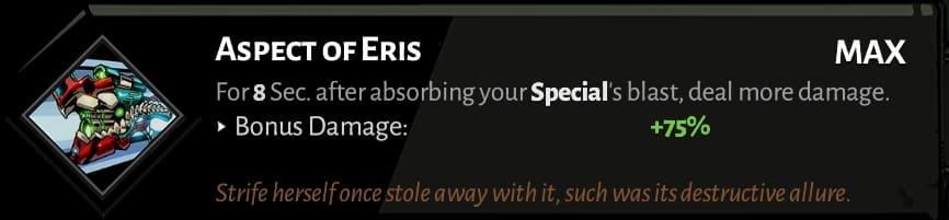 rail aspect of eris best hades aspects