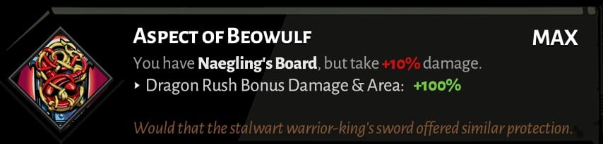 best hades shield aspects beowulf