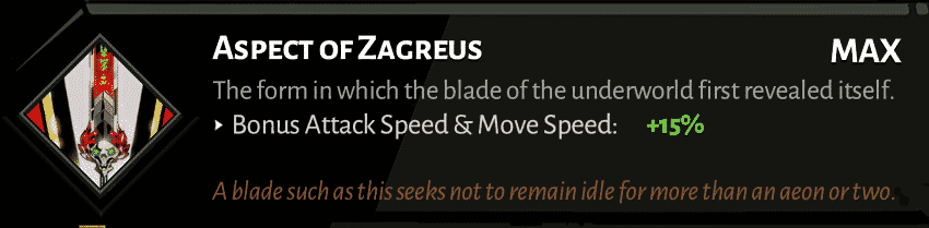 best hades sword aspect zagreus