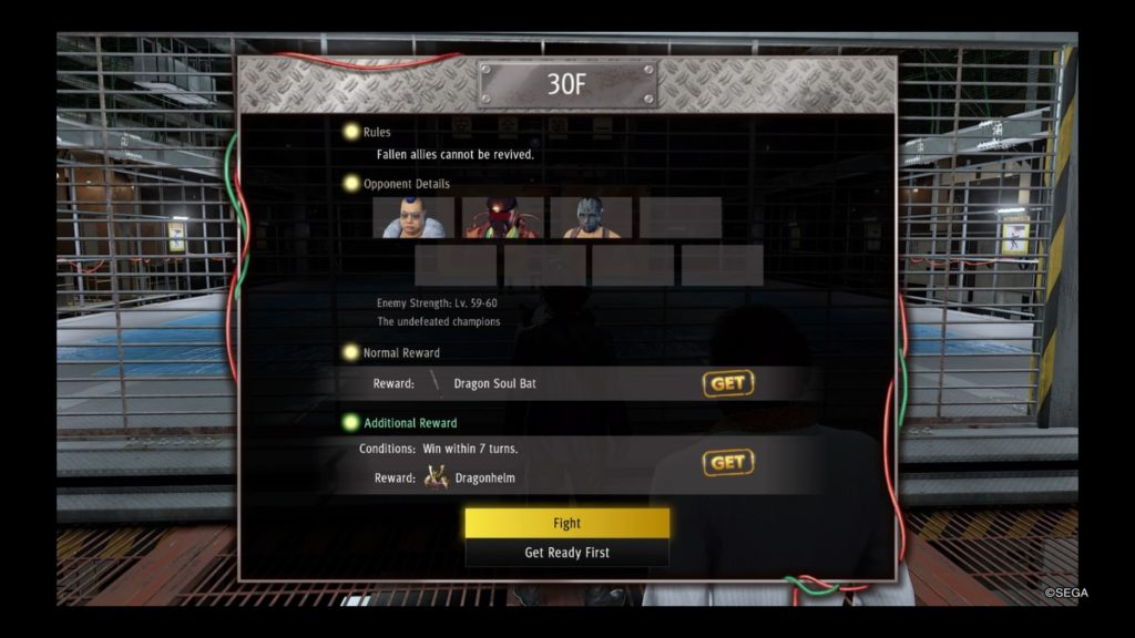 battlearena30 FULL Yakuza Like a Dragon Battle Arena Guide