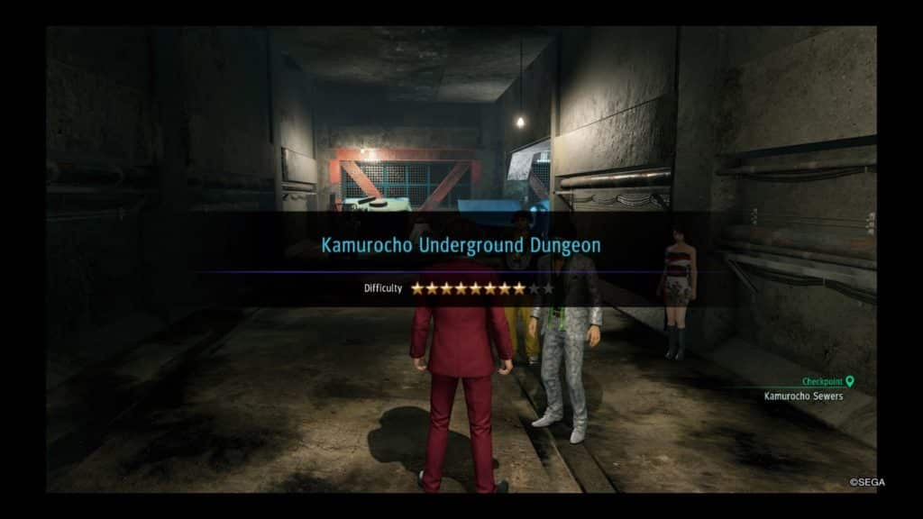 yakuza like a dragon farming kamurocho underground dungeon