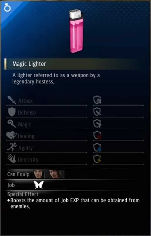 yakuza like a dragon hostess accessory magic lighter