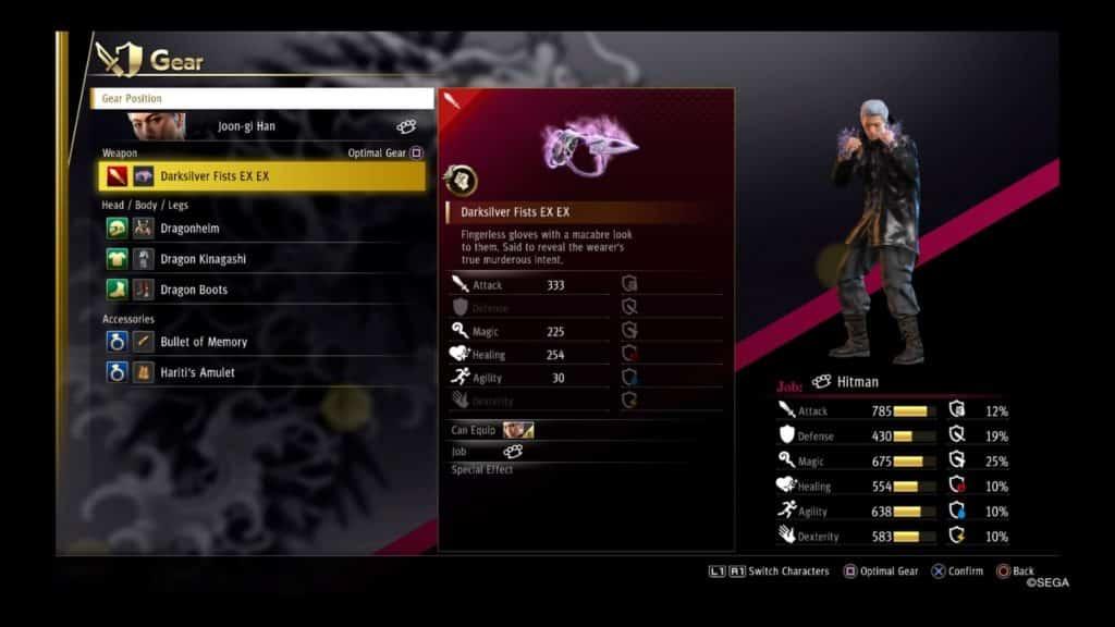 yakuza hitmanweapon 1 Yakuza Like a Dragon Best Weapons for Every Job