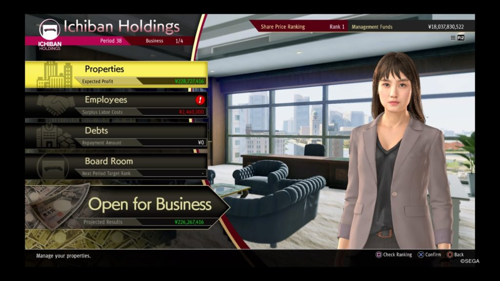 yakuza like a dragon farming money management