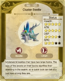 atelier ryza 2 monster drops cluster beetle