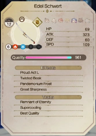 atelier ryza 2 best weapons patricia best weapon edel schwert