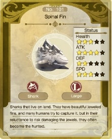 atelier ryza 2 monsters spinal fin