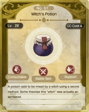 atelier ryza 2 best items witch's potion