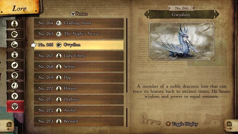 bravely default 2 secret boss gwydion lore